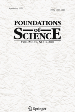 Generic cover of Foundations of Science journal